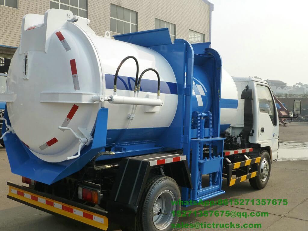 camion -3400L-ISUZU.jpg de collecte des déchets de nourriture