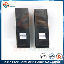 Excellent printing side gusset pouch for coffee packaging