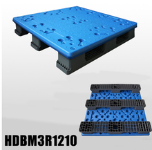Extra high load capacity blow molding plastic pallet 1200x1000x150mm