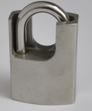 Stainless Steel Padlock with Shrouded Shackle-201