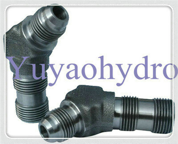 Jic degree flared tube fittings