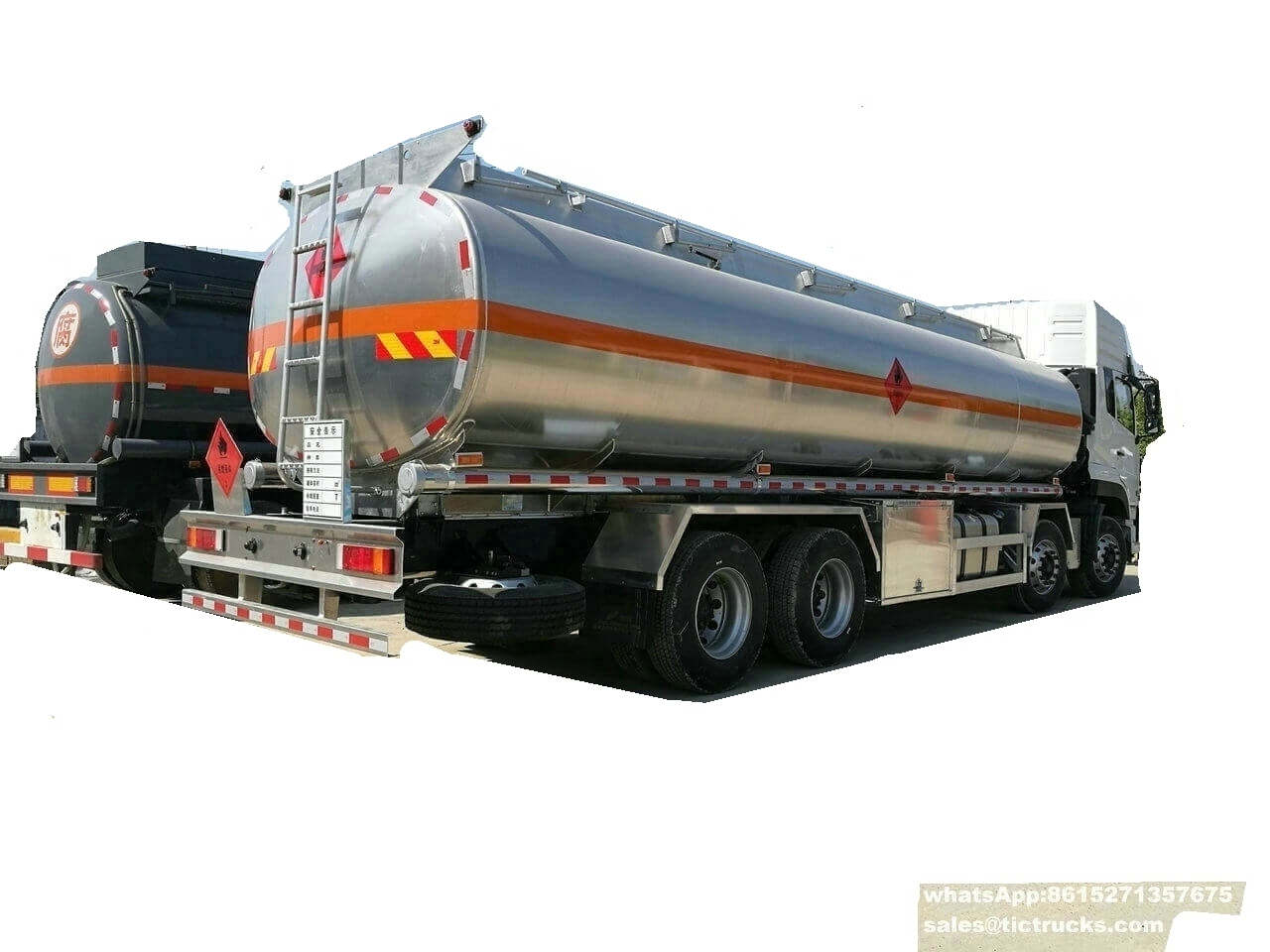 Camion-citerne -31T-dongfeng truck.jpg d'alliage d'aluminium