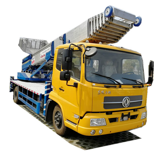 Truck Mounted Telescopic Ladder ( House Moving Services 38m -45m King Run Customizing)