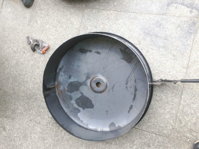 Carbon Steel Water - Oil - Cement Tank Manhole Cover