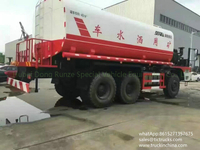 Offroad 6x6 Mine 40000L Water tank Truck all wheel drive