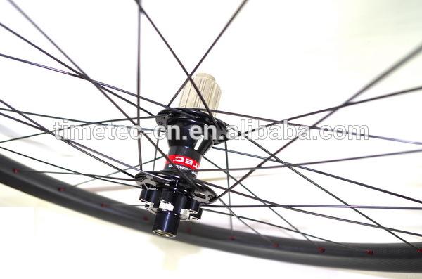 650B T700 carbon 25mm lightweight tubeless MTB wheels