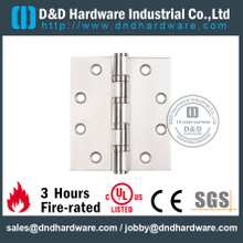Stainless steel durable four ball bearing Hinge for Wooden Door -DDSS002