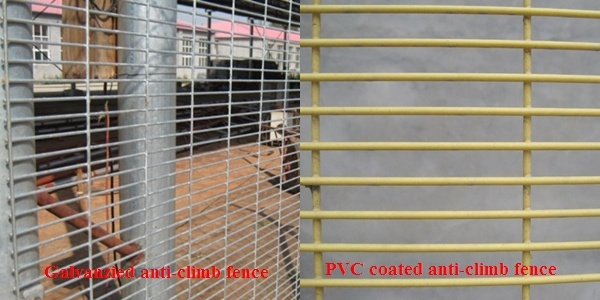 High security boundary gate fencing anti cut prison