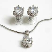 Round Fashion Jewelry Set