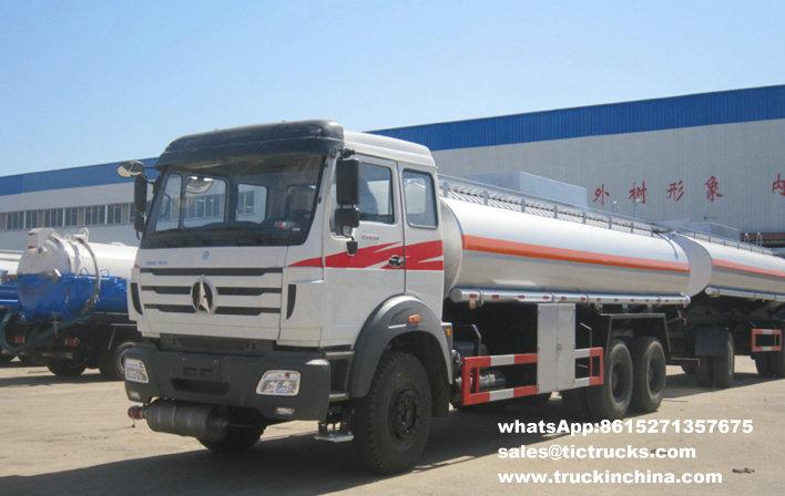 Camion-citerne de la distribution de pétrole de Beiben 6x4 22000LBeiben