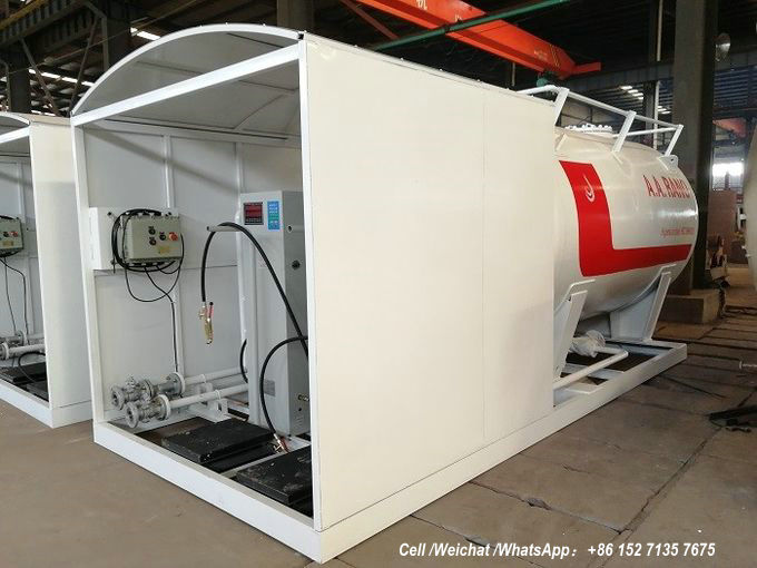 10units LPG tank Skid Station for Nigeria oil gas-A A RANO