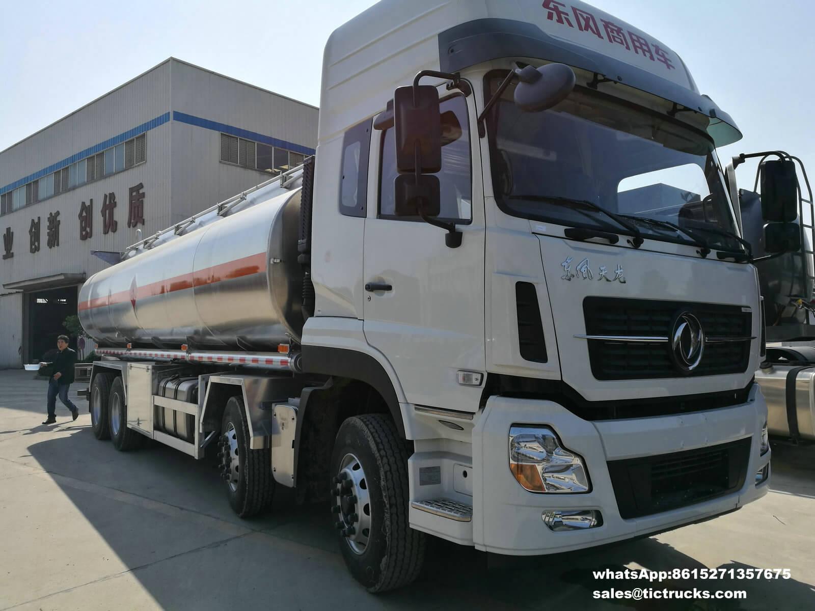 Camion-citerne -29T-dongfeng truck.jpg d'alliage d'aluminium