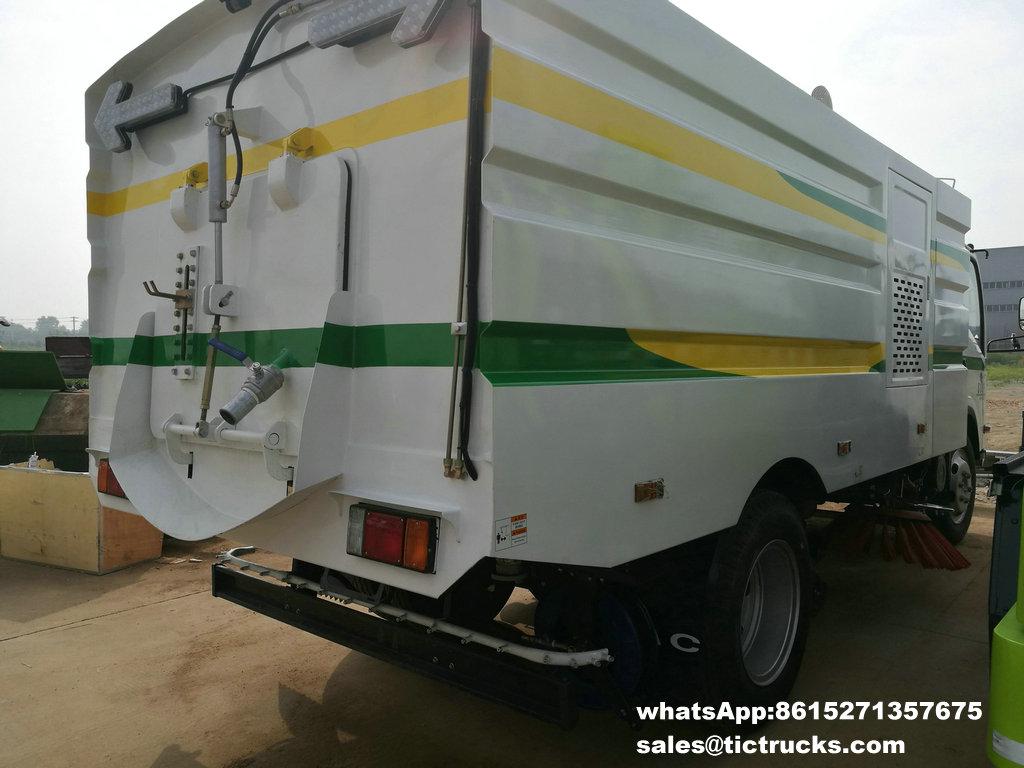 Camion -10.jpg de balayeuse de vide d'ISUZU