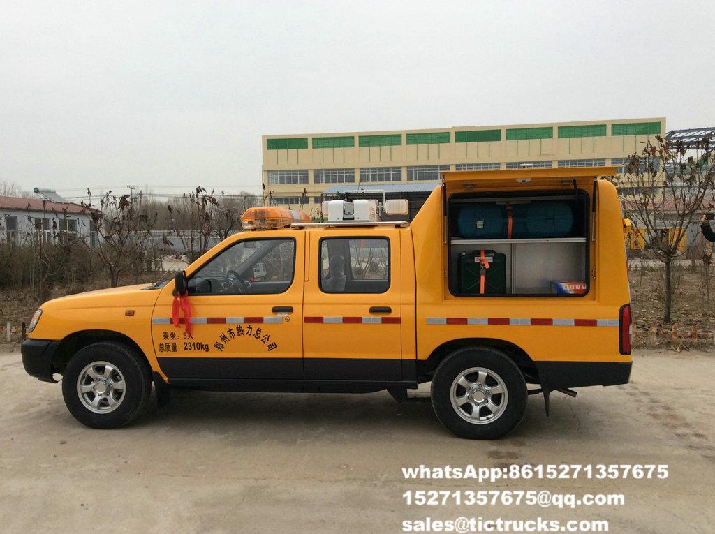 Camion 8.jpg de délivrance d'ingénierie d'ISUZU
