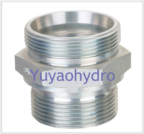 Weld fittings of hydraulic jic deg flare tube