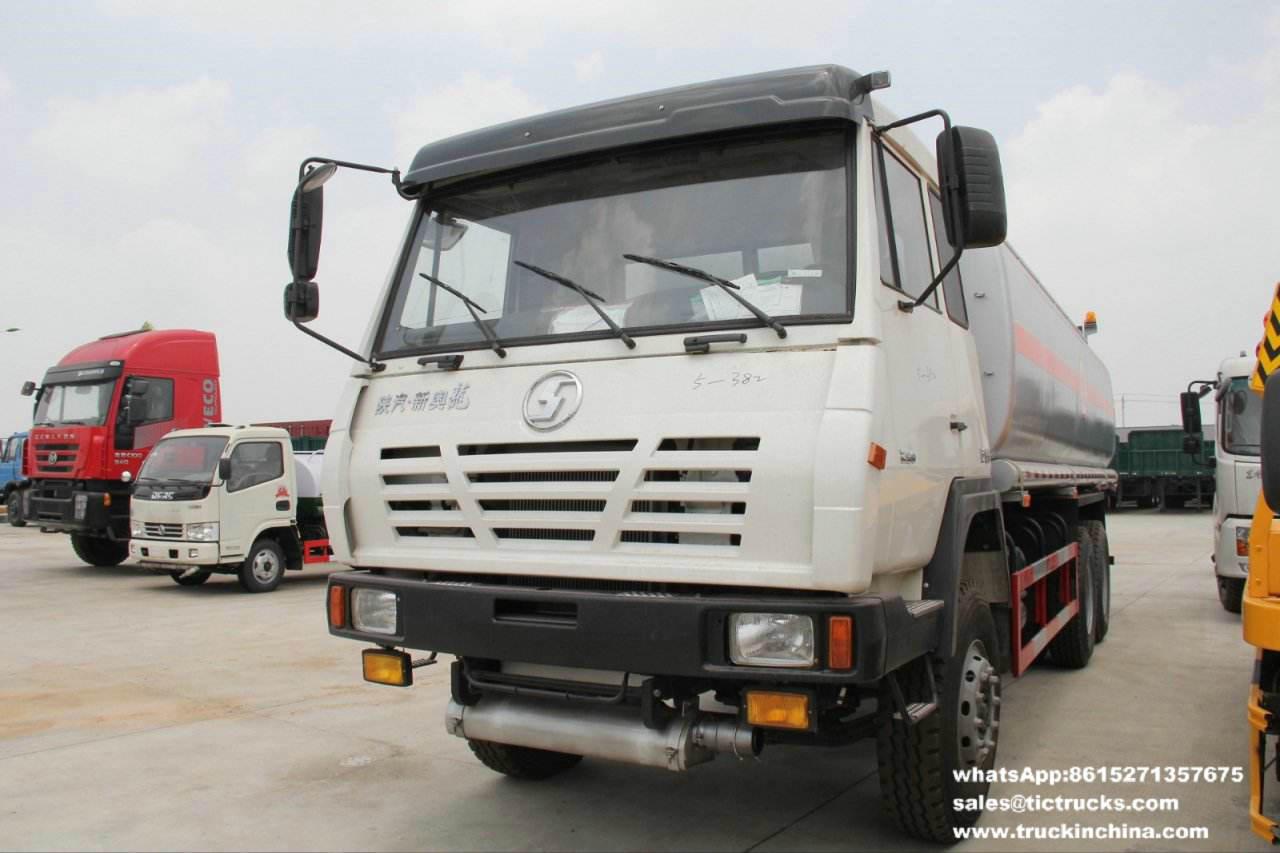 Camion de pétrole lourd de S2000 Shacman