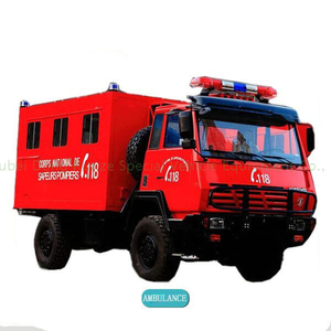 SHACMAN SX2110 Offroad Military AWD 4x4 Ambulance Mobile Clinic Vehicle