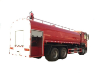 SINOTRUCK HOWO 6x4 Fire Sprinklers Water Tank with Fire Pump 20000L