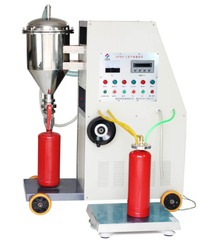 GFM8-2 Automatic Fire Extinguisher Dry Powder Filler ,Fire Extinguisher Filling Machine
