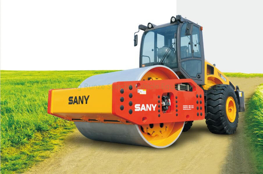 SANY SSR180 VIBRATION ROAD ROLLER EXPORT to TANZANIA FOB price ¥449100