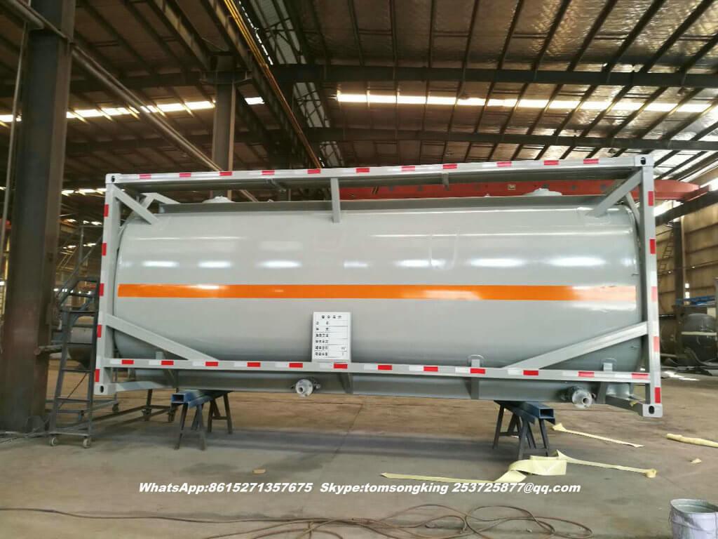 ISO tank HCl acid-34