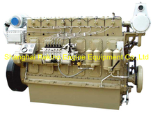408HP 1000RPM Weichai medium speed marine diesel engine (R6160ZC408-1)