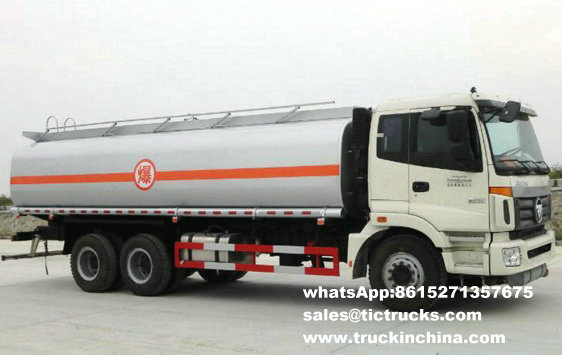 Véhicule de transport de pétrole de Foton 6x4Foton 23CBM