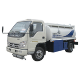 Small Forland Fuel Refueling Truck 4 X 4 Offroad All Wheel Drive With PTO Oil Pump RHD / LHD