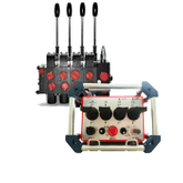 Wireless Remote Control Controller with Multiplex Valve for Hoist And Crane