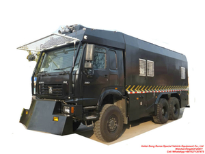 HOWO AWD Off Road 6X6 Anti-riot Police Water Cannon Truck Customizing