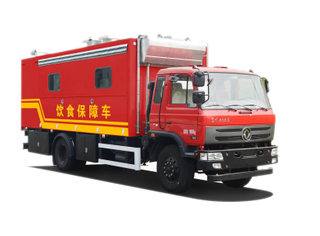 Dongfeng Mobile Food Cooking Truck Customizing
