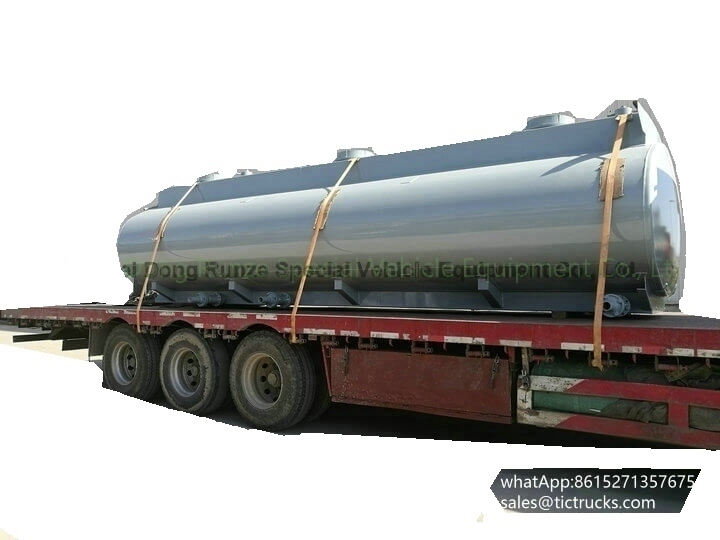 HCL Tank -30cbm-acid tank body