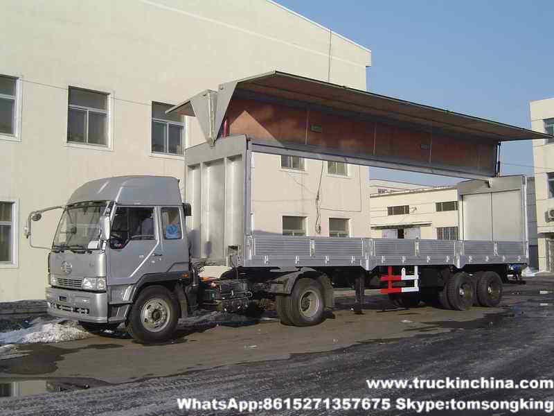 Gullwing trailers for sale