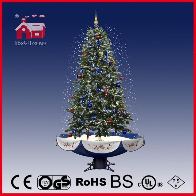 40110u190 Bs Hot Selling Snowing Christmas Tree Craft