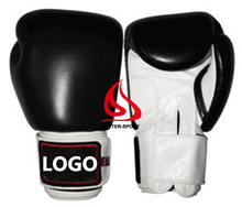 Velcro boxing gloves