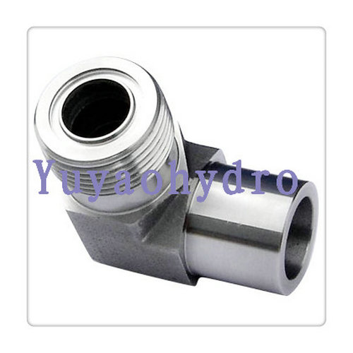 Hydraulic saej stainless steel tube fitting
