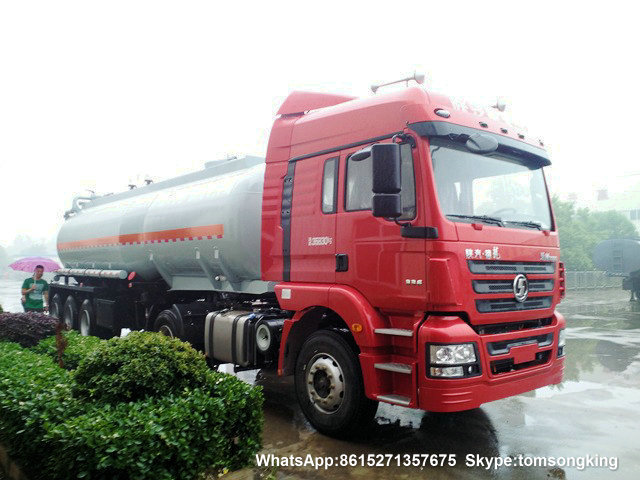 Hydrochloric Acid Tanker Trailer 3 axles 27000 Liters (7132 GALLON) export to Iraq