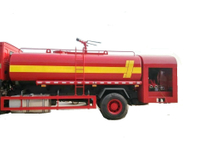 HOWO Water Truck 4x4 / 4x2 with Fire Pump 9 - 12 M3 Tank