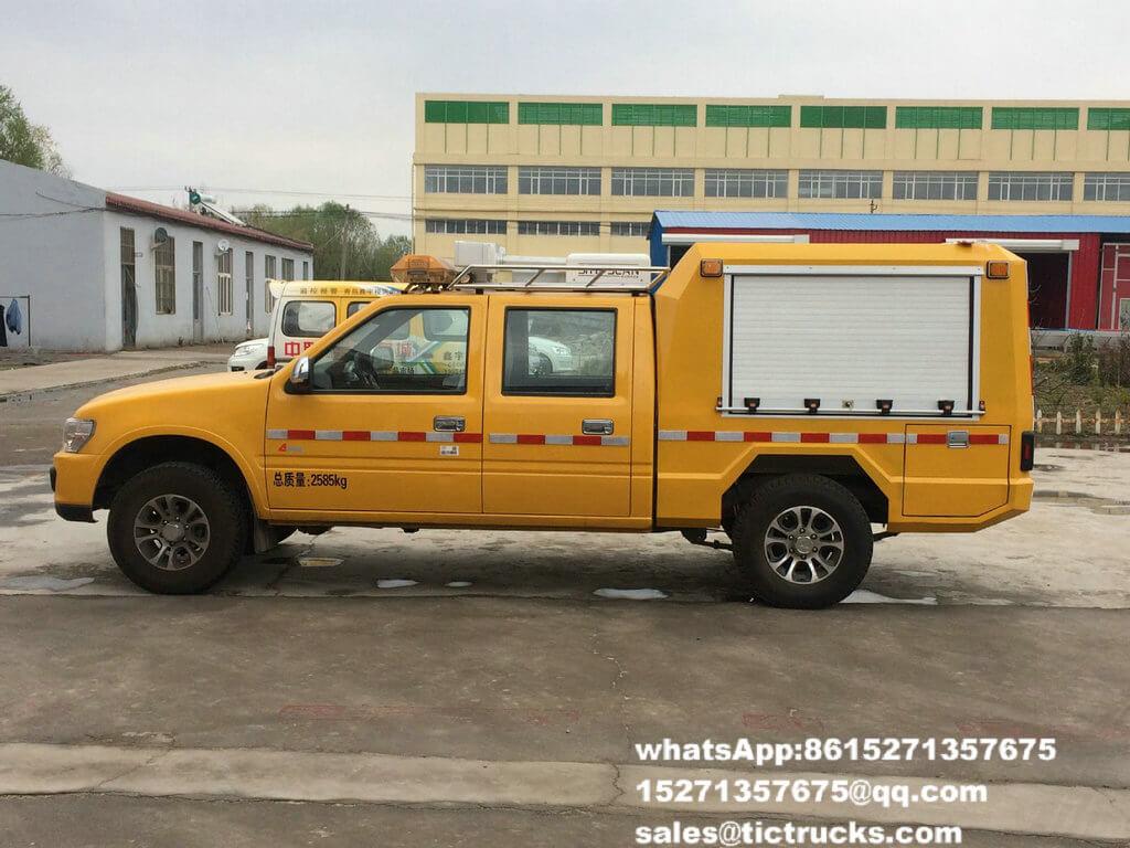 Camionnette de livraison Truck.jpg de délivrance d'ingénierie d'ISUZU