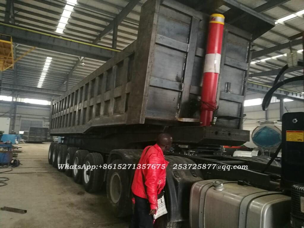 Bauxite tipper trailer-37