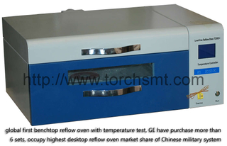 Lead free reflow oven with temperature testing T200C+