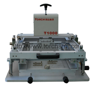 Manual high precision screen printing machine T1000