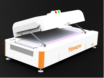Tipo forno de R350 Desk do reflow