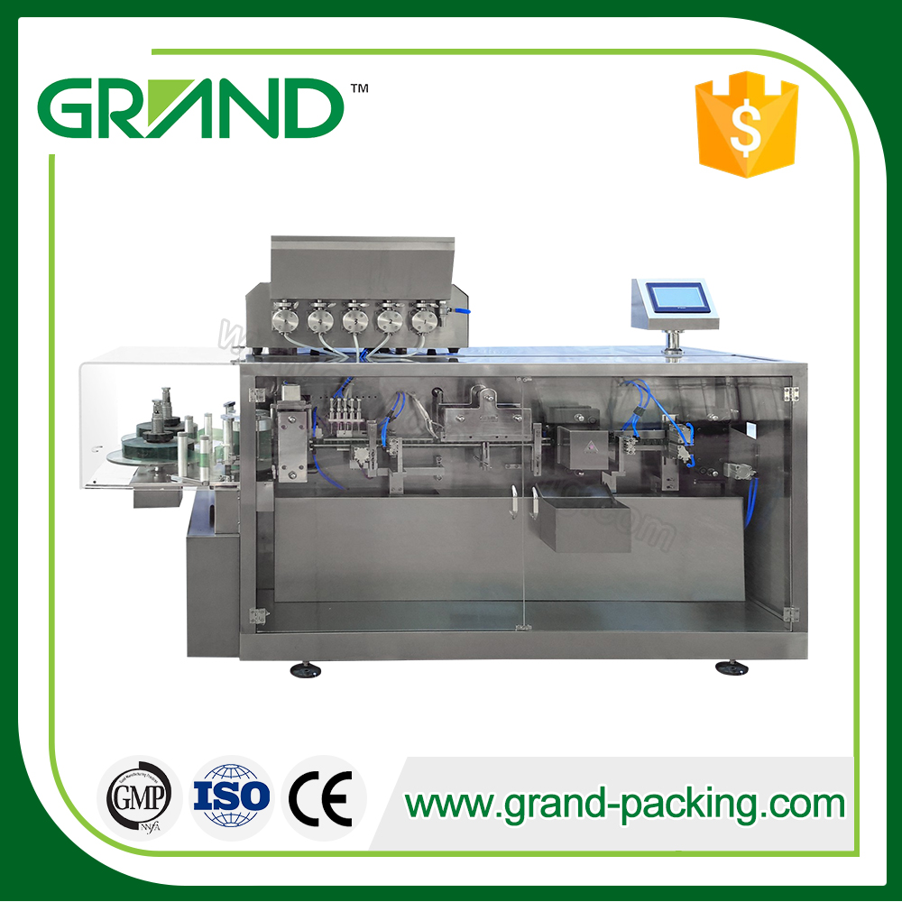 Automatic Cream Plastic Ampoule Forming Filling And