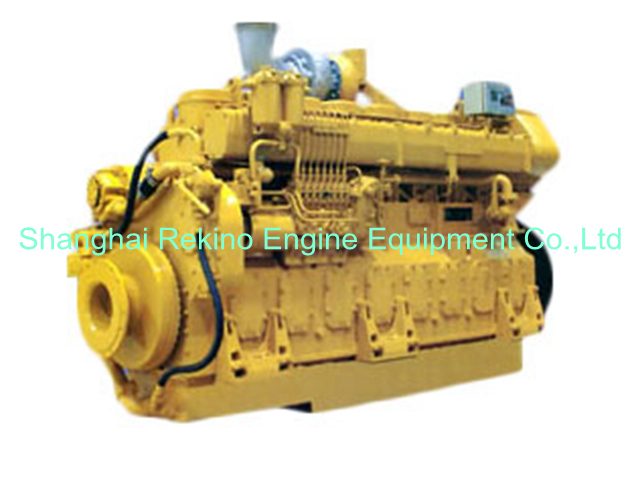680-980HP JDEC Jichai marine medium speed diesel engine (8190)