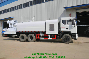 Truck Mounted Dust Suppression Unit EURO 5 Emission Standard