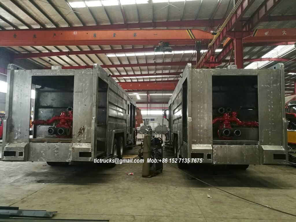ISUZU GIGA foam powder fire -35-truck