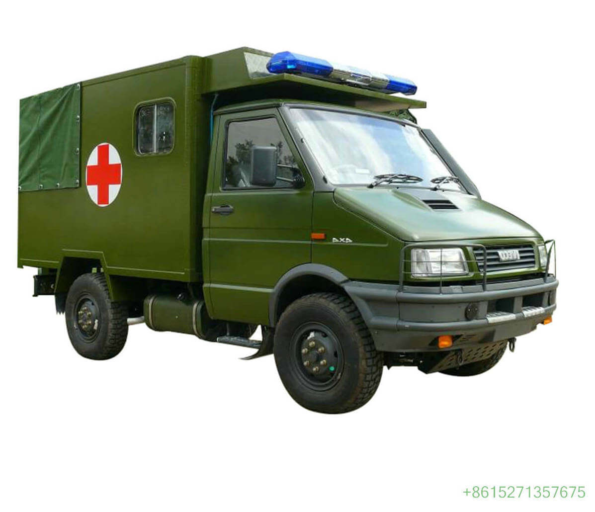 IVECO Offroad Clinic Mobile Medical Health And Epidemic Prevention Vehiclel Customizing