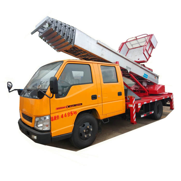 Truck Mounted Telescopic Ladder ( House Moving Services 28m -30m JMC HOWO Customizing)