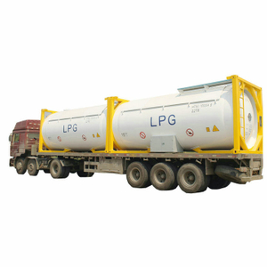 ASME Standard LPG ISO Tank Container 20FT 24000L